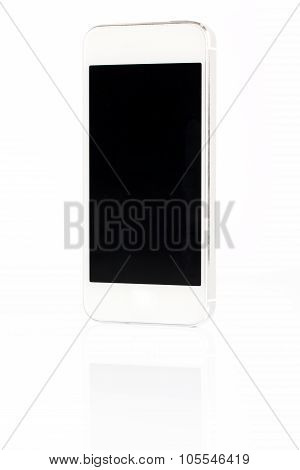 White Smartphone Isolated