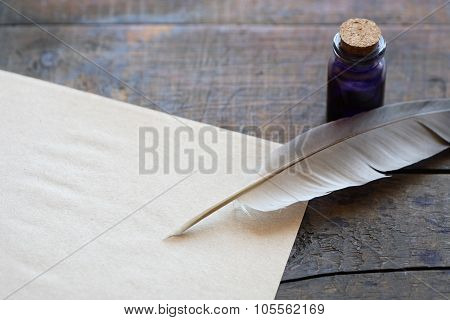 Scroll And Quill