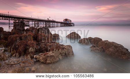 Mumbles pier, Swansea
