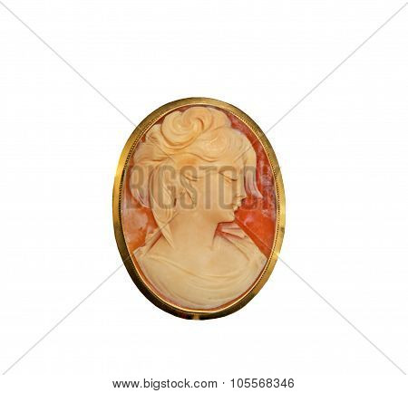 Beautiful Cameo Pin
