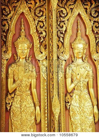 The narbahn of the temple in wat yai chai mong kol poster