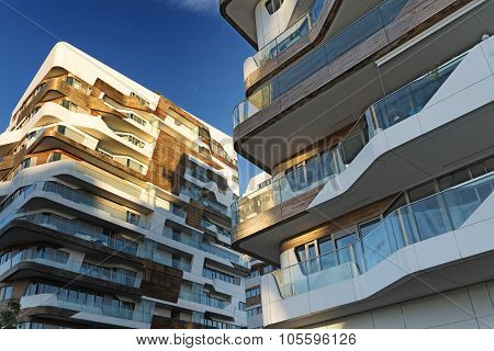 Citylife: Modern Buildings In Milan