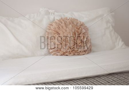 Decorative Peach Pillow