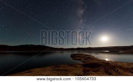 Lake Powell At Night
