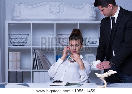Confident Female Boss