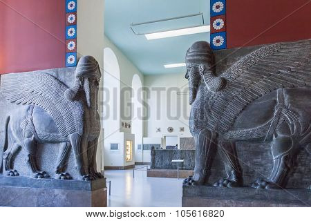 The Guardians In The Pergamon Museum, Berlin, Germany