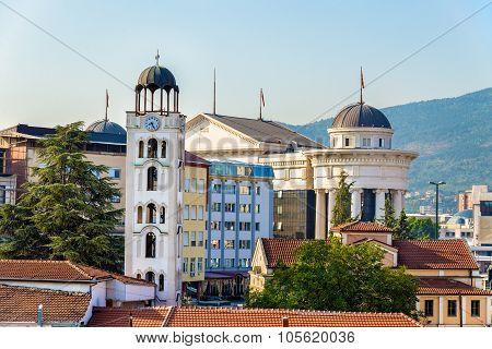 Church St. Demetrius of Salonica in Skopje - Macedonia poster