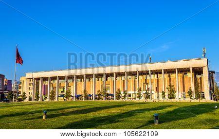 The Palace Of Culture In Tirana - Albania