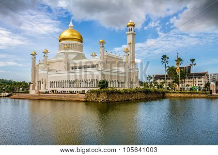Omar Ali Saifudding Mosque-bandar Seri Begawan