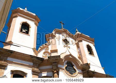Nossa Senhora do Pilar Church in Ouro Preto, Brazil