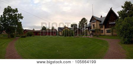 Panoramic View Of Zorngarden In Mora