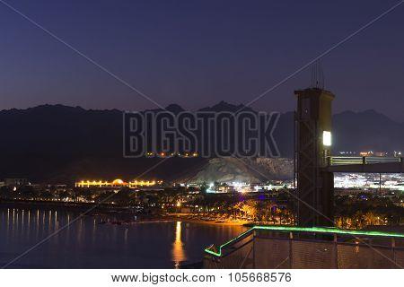 February night in Sharm El Sheikh