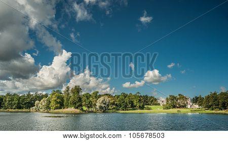 Beautiful russian landscape