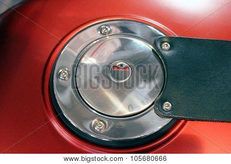 Motorcycle Fuel Tank Door