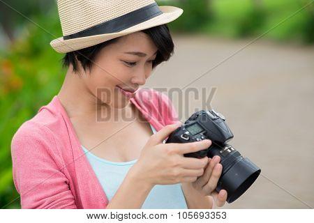 Looking Through The Photos