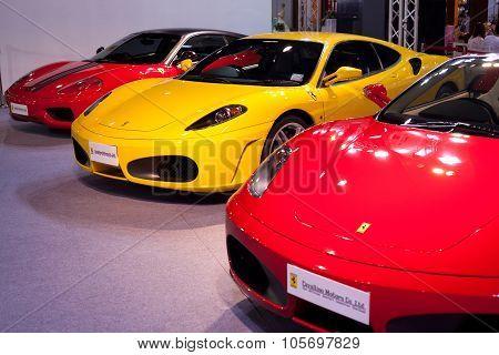 "Bangkok - May 20 : Ferrari On Display During The ""super Car & Import Car Show 2011"" On May 20, 2011"