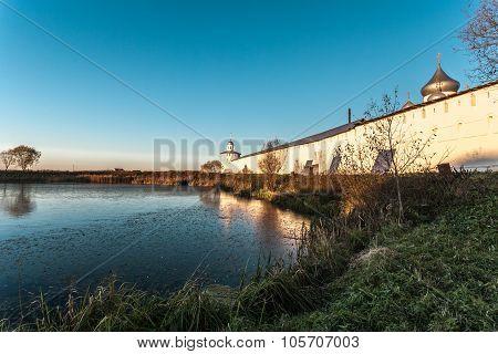 the monastic pond