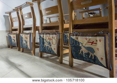 Tapestry Kneelers