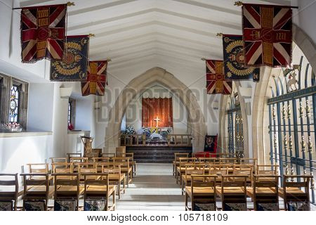 Guildford Cathedral Chapel Of The Queen's Royal Surrey Regiment