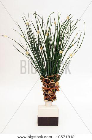 Straws decoration