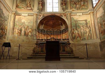 Church Of Santo Stefano Rotondo