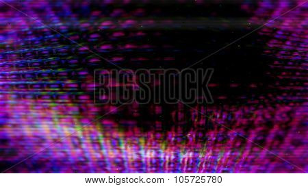 Futuristic Screen Display Pixels 10484