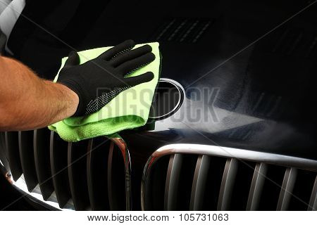 Car Service. Polishing Of The Car 3