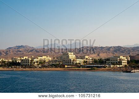 Aqaba, Jordan, Early Morning On The Red Sea