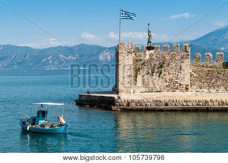 Fisherman In Greece