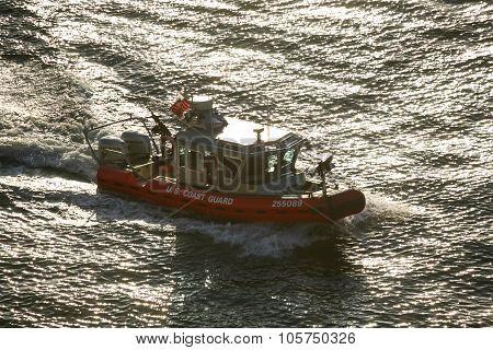 Coast Guard Powerboat