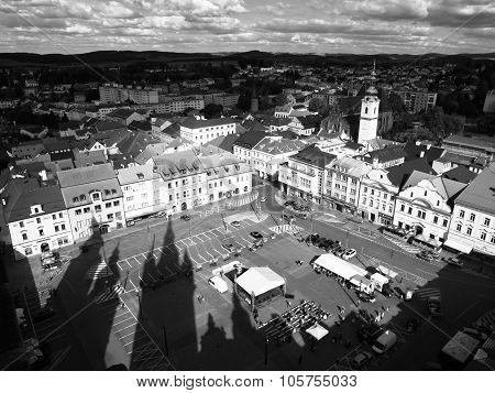 Square of Freedom in Klatovy