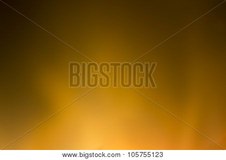 Blurred Background With Bright Orange Lights
