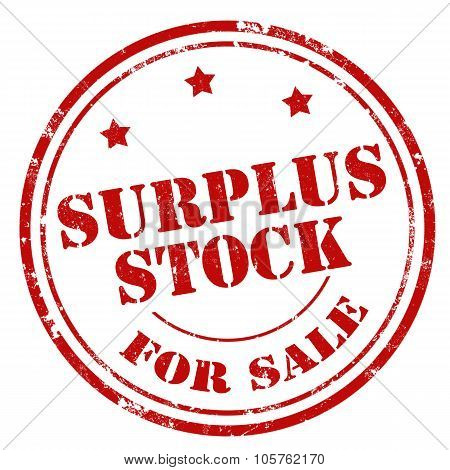 Surplus Stock For Sale