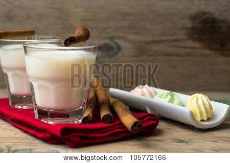 Milk With Cinnamon