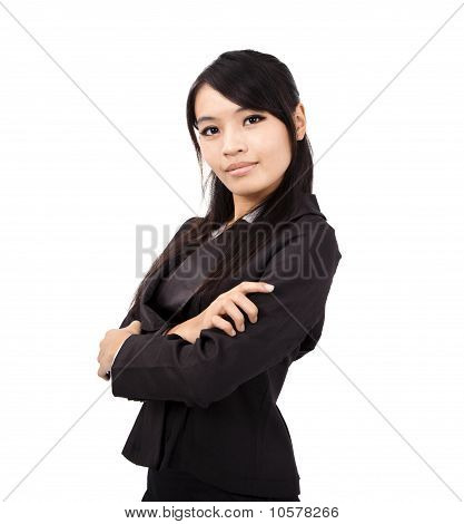 Young and Confident asian businesswoman