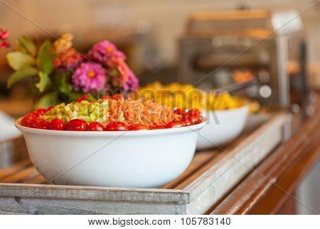 Salad On A Buffet Table