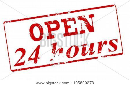 Open Twenty Four Hours