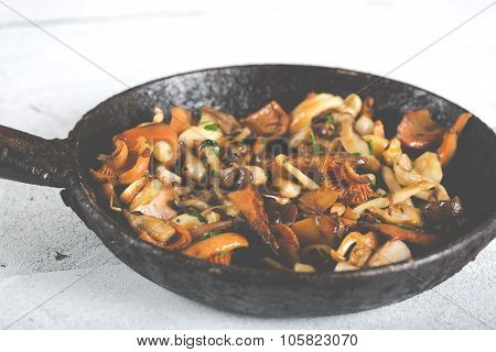 Sauteed Wild Mushrooms