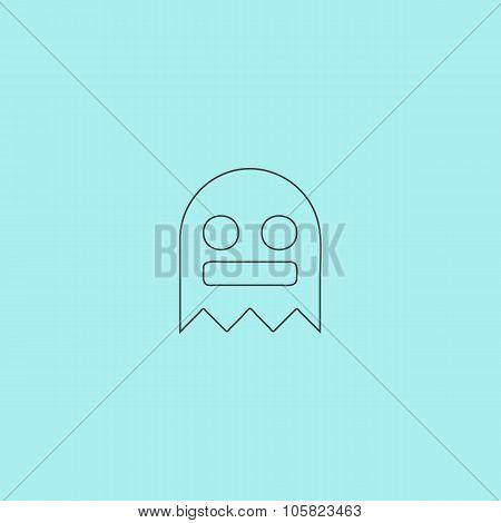 Kawaii cute ghost
