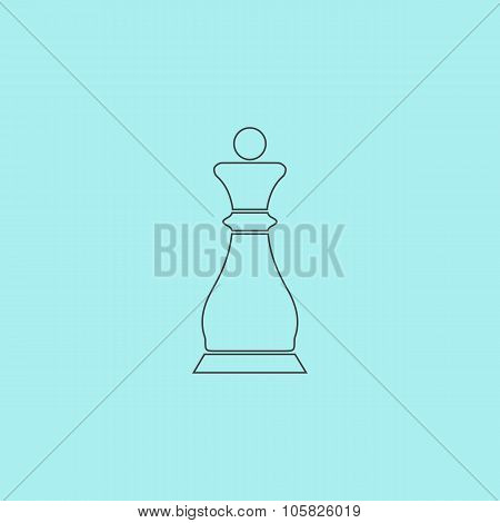 Chess queen icon