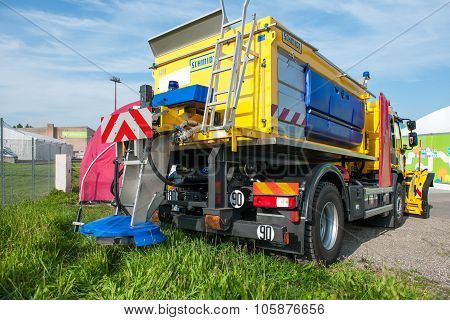 Schmidt Winter Maintenance Truck Snow Plough