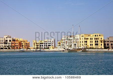 Nuevo puerto deportivo, El Gouna, Red Sea, Egypt