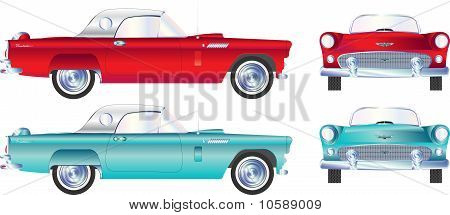 1950 style car