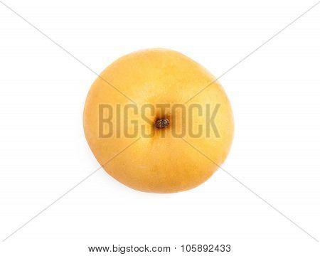 Fresh pear isolated on white background