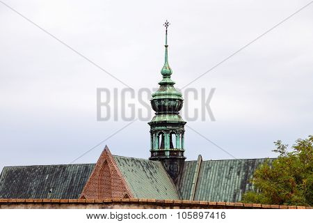 Tower Of The Augustinian Abbey Of St Thomas, Brno
