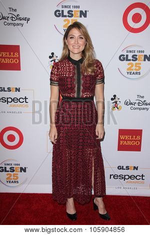 LOS ANGELES - OCT 23:  Sasha Alexander at the 2015 GLSEN Respect Awards at the Beverly Wilshire Hotel on October 23, 2015 in Beverly Hills, CA