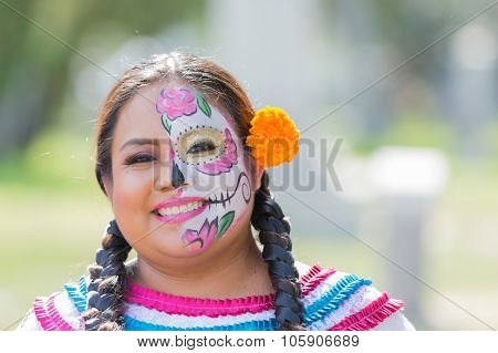 Girl With Sugar Skull