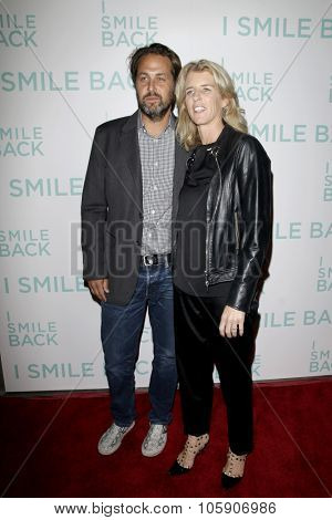 LOS ANGELES - OCT 21:  Rory Kennedy, Mark Bailey at the