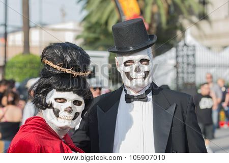 Couple  With Sugar Skull