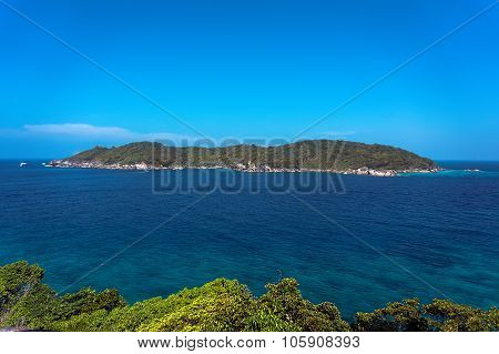the small island